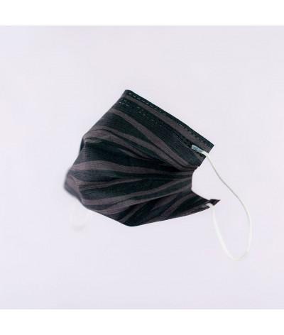 Masque Fantask en tissus lavable made in france - Coloris Veillée masque