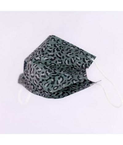 Masque Fantask en tissus lavable made in france - Coloris Irbis masque