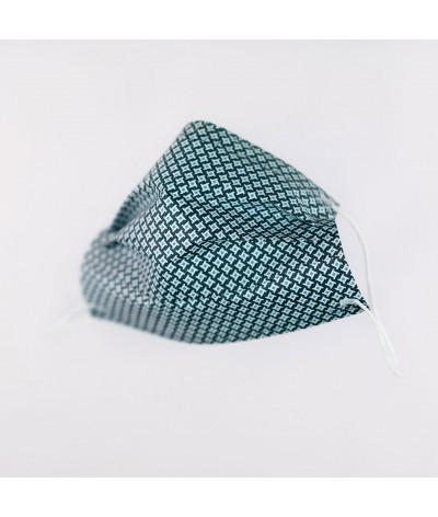Masque Fantask en tissus lavable made in france - Coloris Brume masque