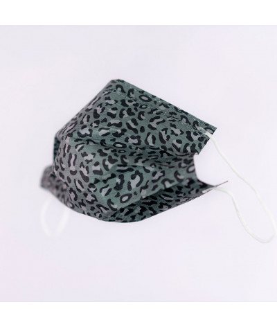 Fantask masque tissus lavable made in france - Coloris Pelage masque