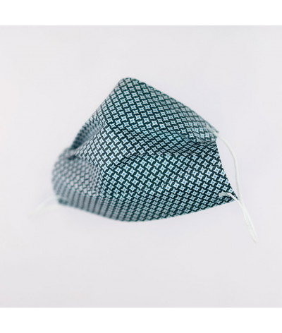 Fantask masque tissus lavable made in france - Coloris Cravate masque