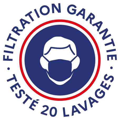 filtration garantie 20 lavages